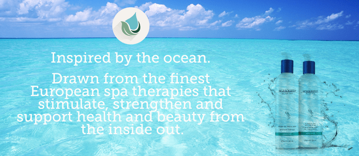 Eradicate the winter effects on your skin – Inspired by the ocean